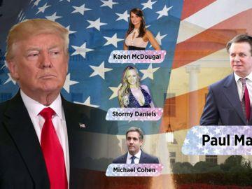 """Trump acusa a Cohen de """"inventarse historias"""" para llegar a un acuerdo con la Fiscalía"""