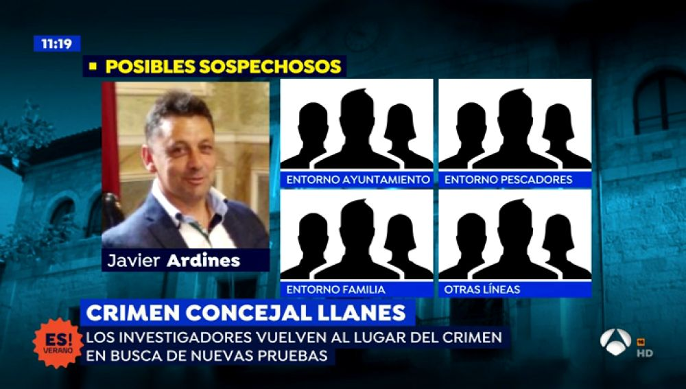 Abren una nueva línea de investigación en el asesinato de Ardines