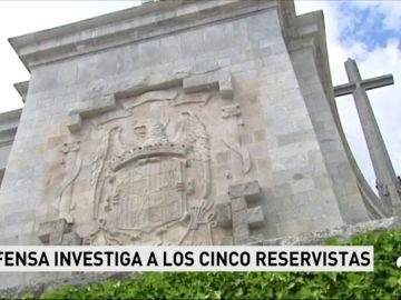 Defensa llamará a declarar a los reservistas que firmaron el manifiesto a favor de Franco
