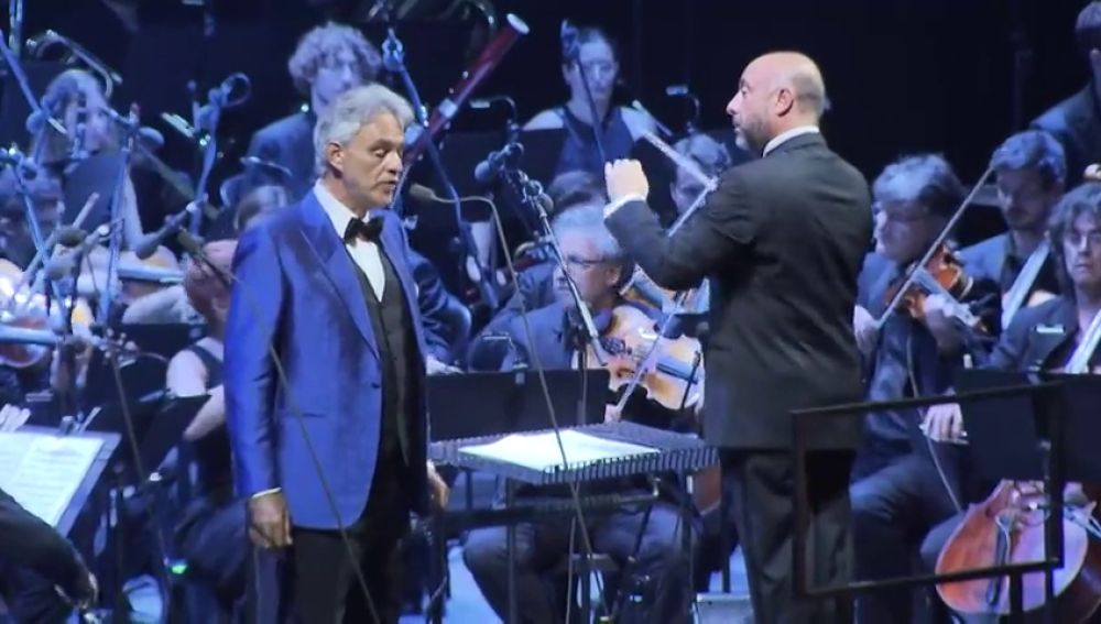 Andrea Bocelli clausura el Festival Cap Roig en Girona
