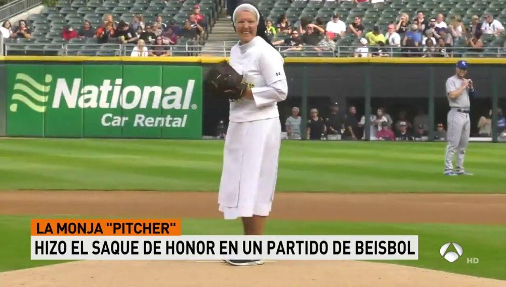 ANTENA 3 TV | La monja \'pitcher\' se hace viral: tremenda habilidad ...