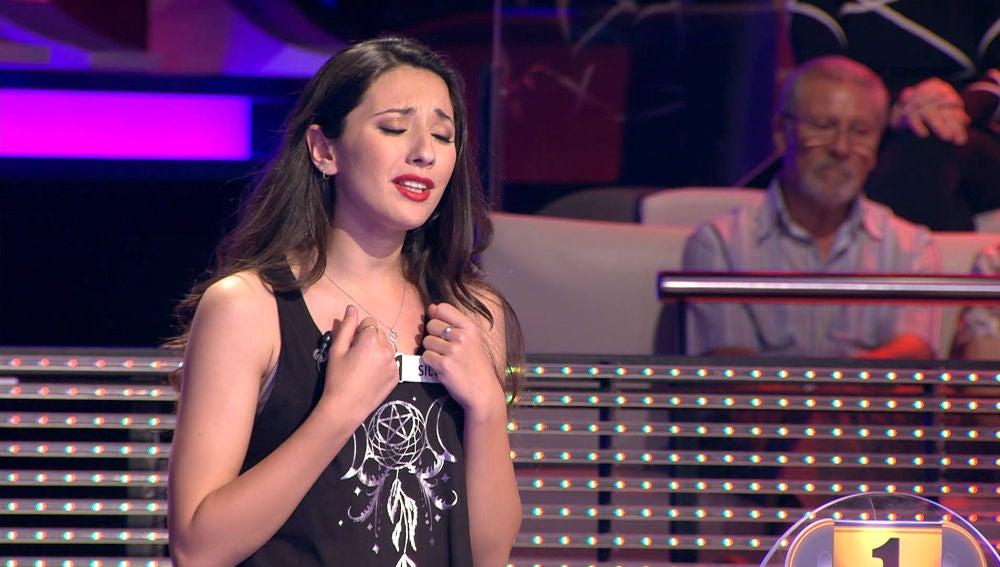 La canción de una concursante de 'Ahora Caigo' que hizo llorar al público