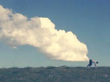 Fotografía con nubes