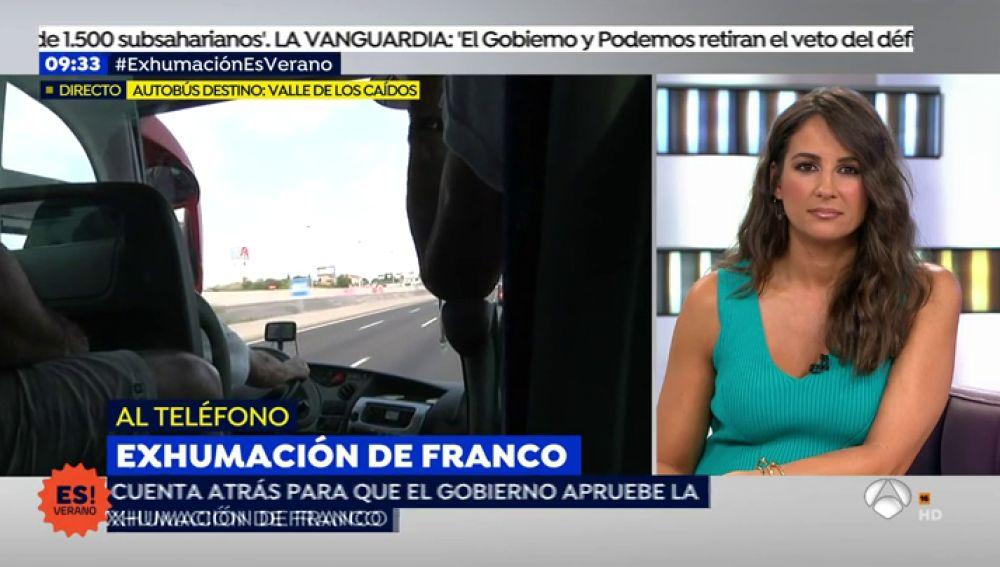 """Chicharro, presidente de la Fundación Francisco Franco: """"Tenemos confianza en la Iglesia, y no entreguen los restos de Franco"""""""