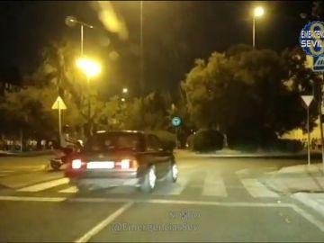 Identifican a 70 personas y 60 vehículos en una operación contras las carreras ilegales en Sevilla