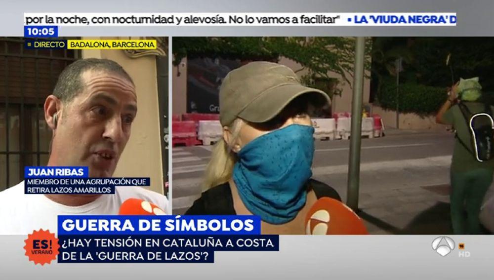 Los vecinos de Badalona denuncian el acoso por los independentistas