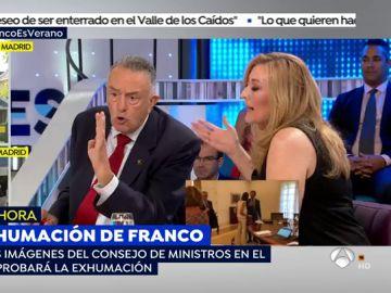"""La discusión entre Emilio Pérez y Elisa Beni: """"No juegue con las palabras, eso es mentira"""""""