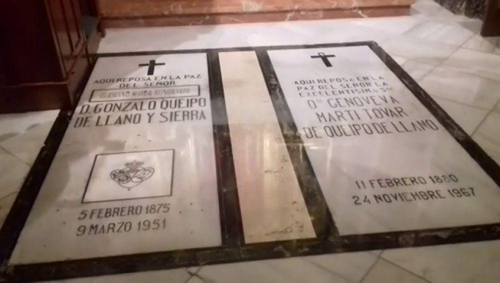 Susana Díaz pide a la Hermandad de la Macarena que cumpla con la ley y traslade los restos del militar Queipo de Llano