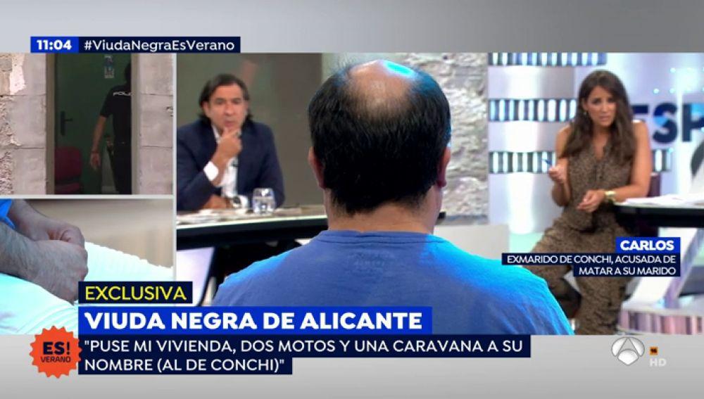 """El segundo marido de la 'viuda negra' de Alicante: """"Tuve miedo durante cuatro años y estar hoy aquí es casi un milagro"""""""