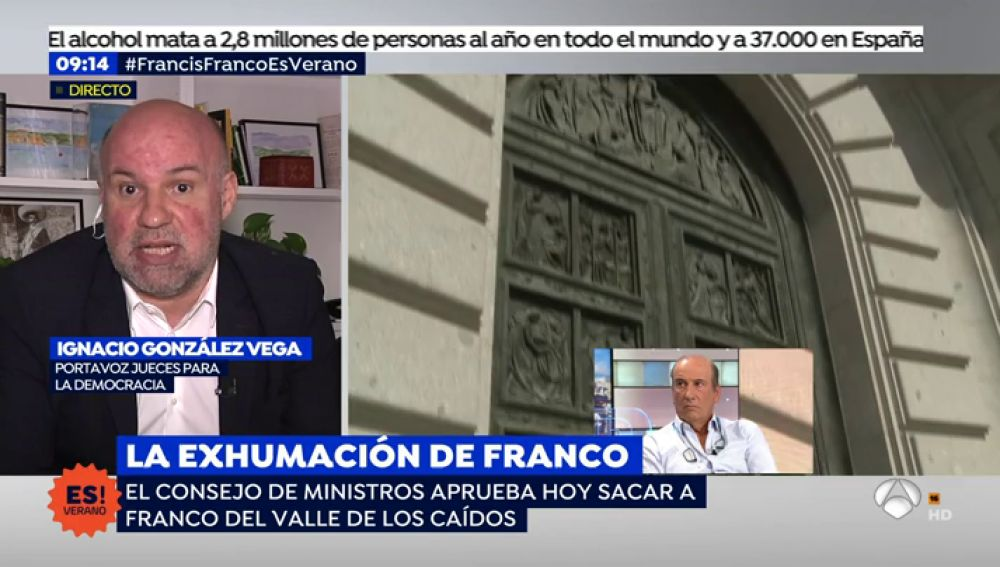 """González Vega, Portavoz 'Jueces para la democracia': """" El Decreto-Ley se puede aprobar en caso de extrema urgencia"""""""