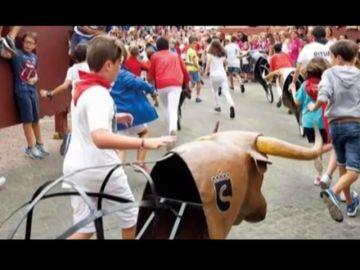 Los más pequeños también podrán participar en los encierros de San Sebastián de los Reyes 2018