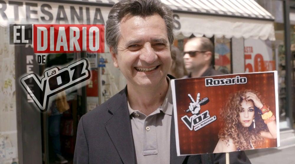 El diario de 'La Voz': los primeros seguidores del 'team Rosario', embaucados con la garra y carisma de la coach