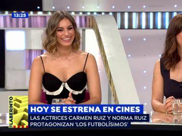 Carmen Ruiz y Norma Ruiz presentan 'Los futbolísimos'