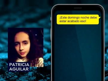 Los whatsapps de Patricia Aguilar y Félix Steven Manrique