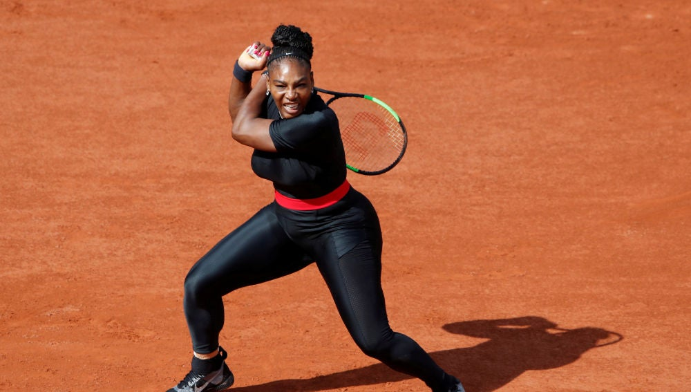 Serena Williams, en Roland Garros