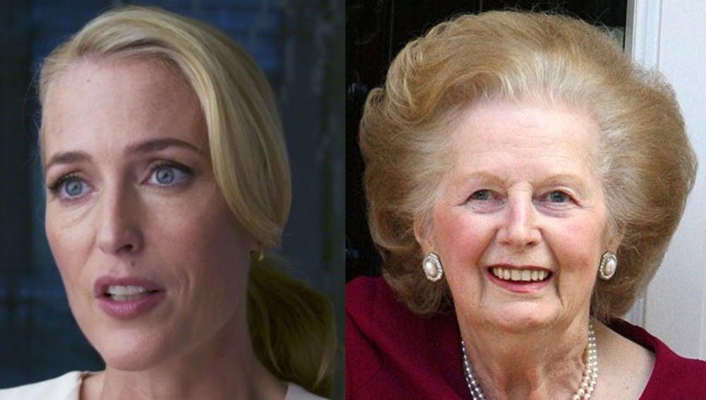 Gillian Anderson podría ser Margaret Thatcher
