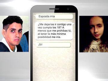 Los mensajes del líder de la secta de Perú para captar a Patricia Aguilar