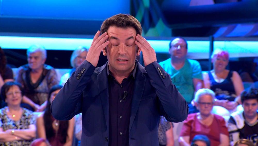 Arturo Valls desvela su secreto más íntimo en '¡Ahora Caigo!'