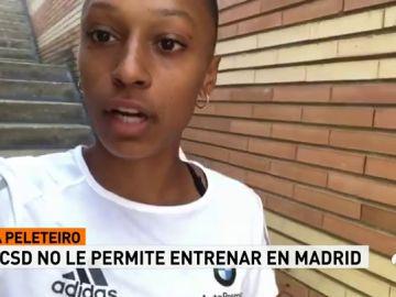 """El CSD no permite a Ana Peleteiro entrenarse en Madrid: """"Es una vergüenza que con esa pista nos den ese trato"""""""