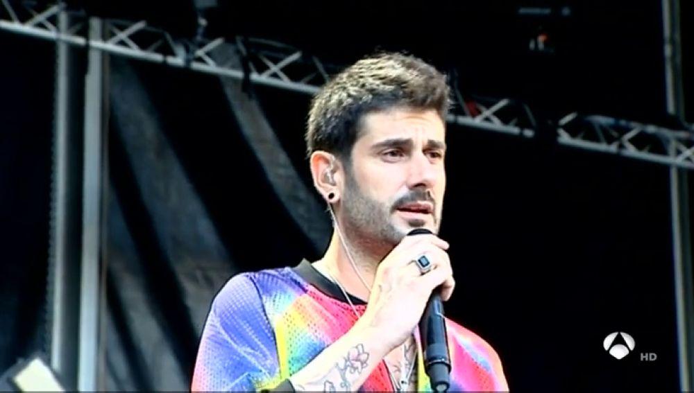 Melendi afronta con nervios el inicio de su gira en el Festival Starlite