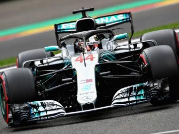 Hamilton, en el Mercedes