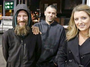 Una pareja se queda con los fondos recaudados para una persona sin hogar