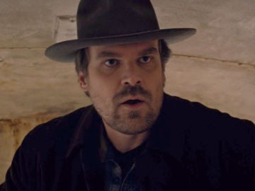 David Harbour en 'Stranger Things'