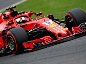 Vettel, sobre el Ferrari