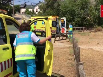 Un hombre se encuentra muy grave tras el segundo 'boloencierro' celebrado en Mataelpino