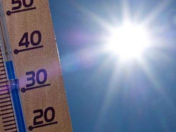 Imagen de archivo de un termómetro