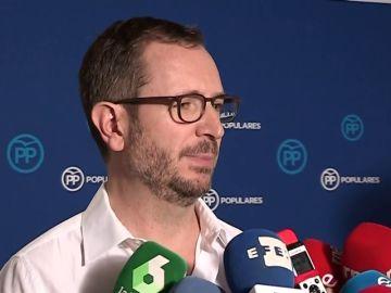 """Javier Maroto """"No vamos a permanecer de brazos cruzados frente la actitud de Pedro Sánchez"""""""