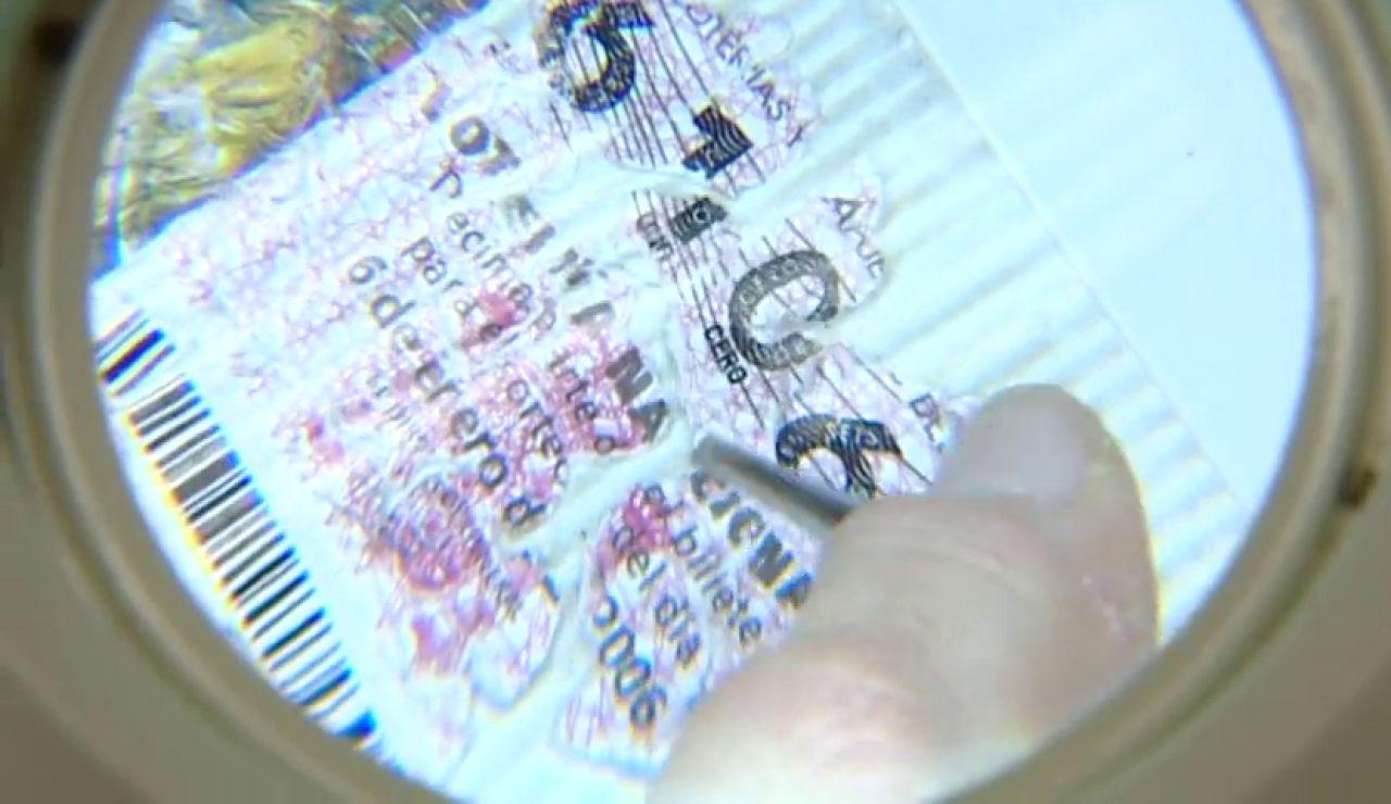 Cómo comprobar si tu décimo de Lotería de Navidad es falso