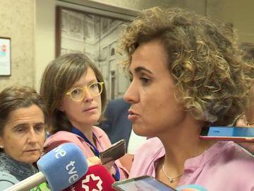 Montserrat acusa al PSOE de no respetar el proceso legislativo y defiende el trámite sin urgencia para la Ley de Estabilidad Presupuestaria