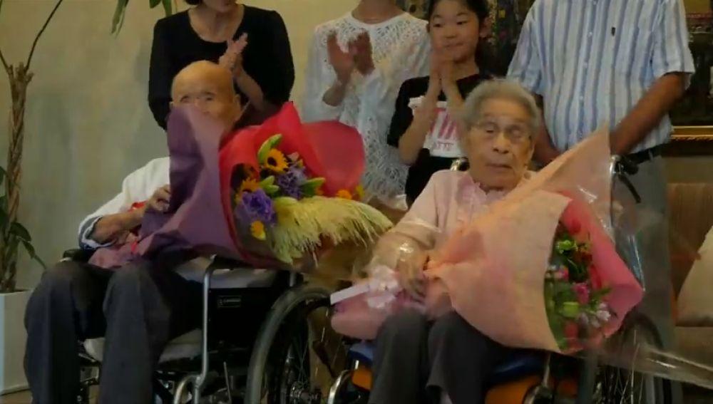 El matrimonio más longevo del mundo lleva 80 años casados