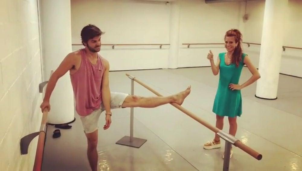 Así se prepara Jordi Coll junto Marta Tomasa para la nueva edición de 'Tu cara me suena'