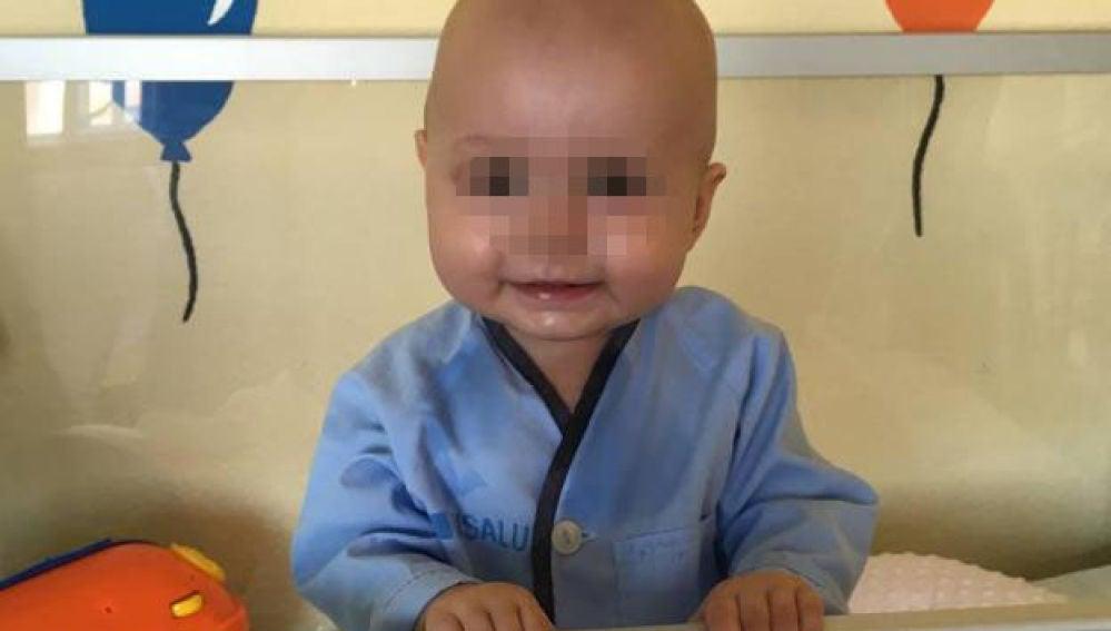 Cataleya, la bebé enferma de leucemia