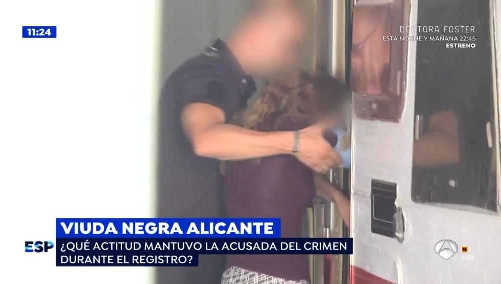 La imágenes de la 'viuda negra' de Alicante que demuestran que puede andar
