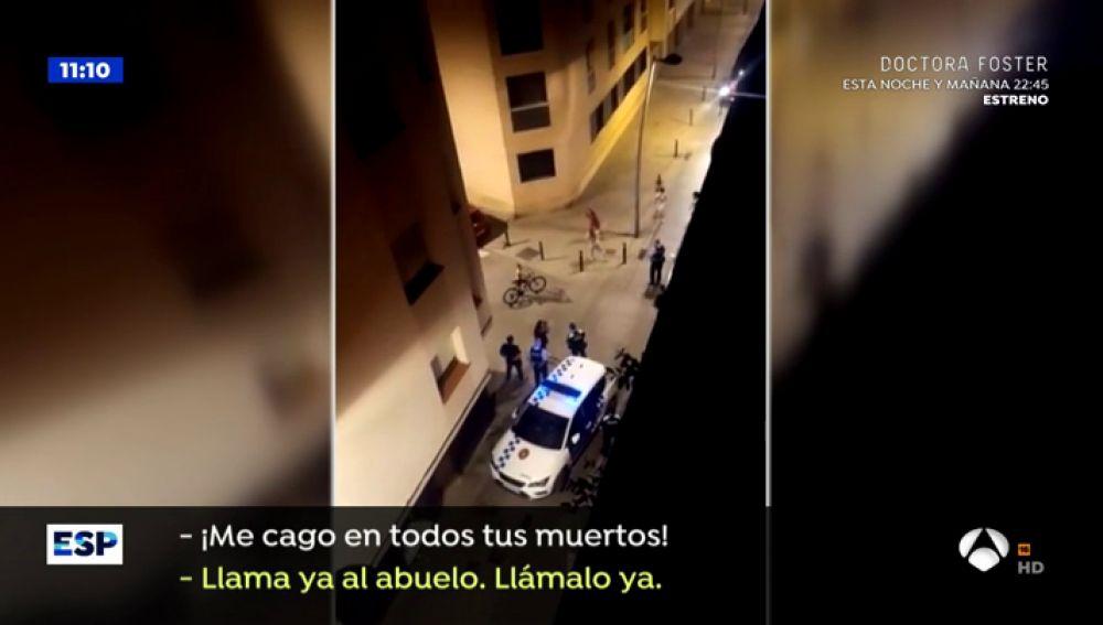 """La 'okupa' de La Llagosta amenaza a la Policía: """"Vete a por el abuelo, que vaya a por las pistolas y les tiroteamos a todos"""""""
