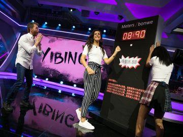 Yibing reta 'El Hormiguero 3.0' a Carolina Marín y Pablo Motos