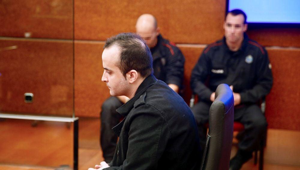 El presunto asesino de una bebé en Vitoria