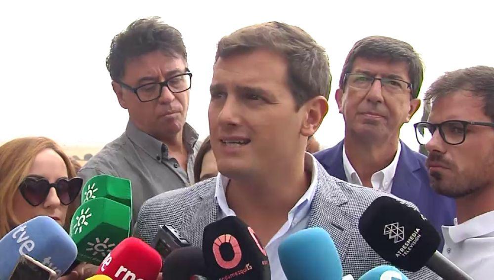 """Rivera abre la puerta a romper el pacto de Gobierno de C's con el PSOE en Andalucía: """"Susana Díaz no está cumpliendo"""""""