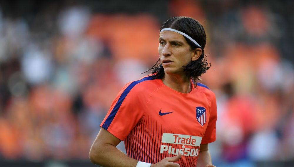 Filipe Luis, jugador del Atlético de Madrid