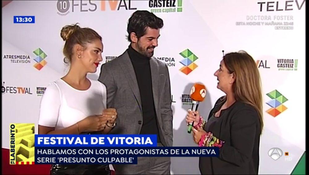 """Miguel Ángel Muñoz y Alejandra Onieva, protagonistas de 'Presunto Culpable': """"El menos sospechoso acaba siendo el que más secretos esconde"""""""