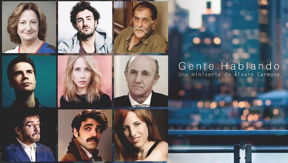 'Gente hablando', la nueva serie de Álvaro Carmona