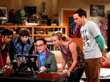 Los protagonistas de 'The Big Bang Theory'
