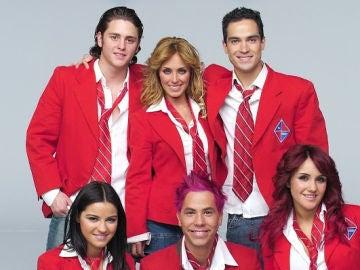 Los protagonistas de 'RBD'