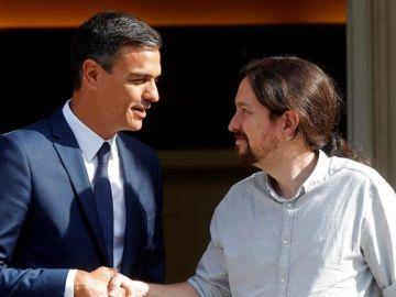 """laSexta Noticias 20:00 (06-09-18) Pablo Iglesias califica de """"buen comienzo"""" su reunión con Pedro Sánchez"""