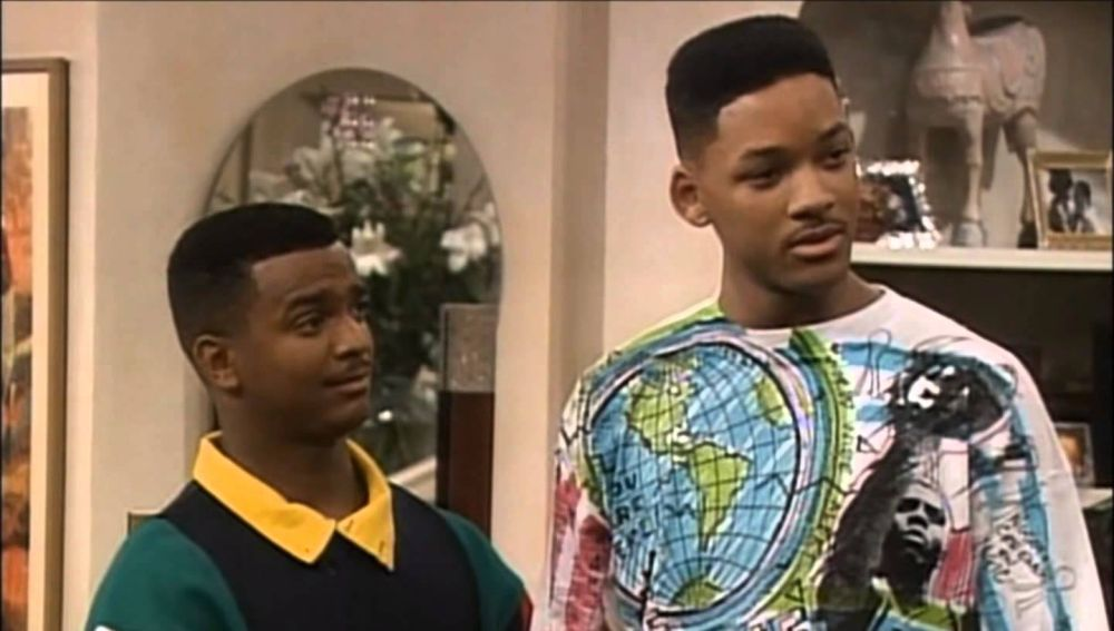 Alfonso Ribeiro y Will Smith