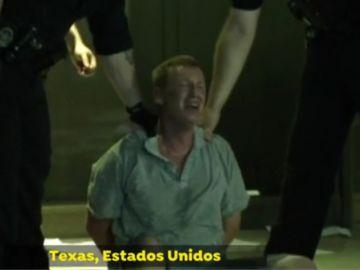El hombre detenido en Texas