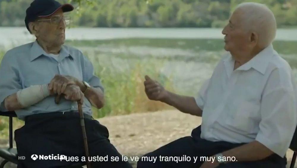 Polémica por el vídeo mostrado en el Congreso de dos excombatientes opuestos de la Guerra Civil